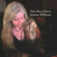 Real Deal; Jessica Williams 2004 CD, Solo Jazz Piano, Hep Records Very Good
