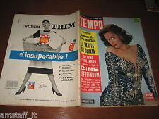 RIVISTA TEMPO 1958/22=ANNE HEYWOOD=SCIA' DI PERSIA=FESTIVAL CANNES=