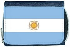 Argentina Flag Denim Wallet