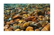 Penn Plax River Rocks 3D Depth Aquarium Background 20 Gallon LB3