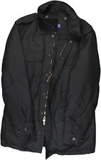 RALPH LAUREN PURPLE LABEL MEN'S BLACK WINTER JACKET-MEDIUM/40-MADE IN ITALY