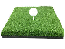 """12"""" x 12"""" Golf Chipping Driving Range Practice Mat - Holds A Wooden Tee"""