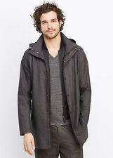 Vince Men's Melange Twill 3-in-1 Jacket & Vest - $645 MSRP - Size Medium - HOT!!