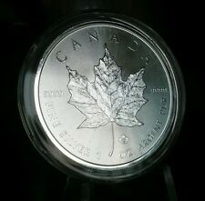 2017 CANADA CANADIAN SILVER MAPLE LEAF 1 oz COIN .9999 $5 BU UNC