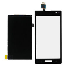 Black Touch Screen Digitizer Glass + LCD Display For LG P769 T-mobile Optimus L9