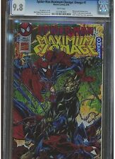 SPIDER-MAN MAXIMUM CLONAGE : OMEGA #1 CGC 9.8 MINT WHITE PAGES GWEN STACY CLONE