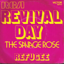 """45T 7"""": the Savage Rose: revival day. RCA. A4"""