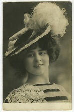 c 1904 French Music Hall Cabaret ELISE DE VERE Dancer Dancing photo postcard