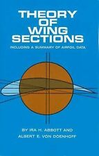 Theory of Wing Sections by by Ira H. Abbott (Paperback)