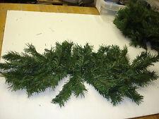 """Christmas 2Pc 35"""" PVC Pine Swags Picks bulk wholesale  floral Crafts  Decoration"""