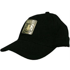 Nirvana - Metal Badge Black Flexfit Baseball Cap - New & Official With Tag