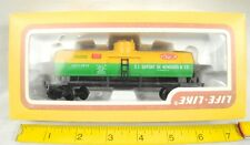 Vintage Life-Like HO Scale 8523 Tank Car Du Pont