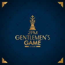 2PM - GENTLEMEN'S GAME LIMITED EDITION 1CD BRAND NEW SEALED + FOLDED POSTER