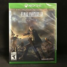 Final Fantasy XV (15) Day One Edition (Xbox One, 2016) BRAND NEW / Region Free