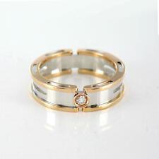 New Designer BARAKA Gorgeous Solid 18K White Rose Gold Men's Ring W/ Diamond
