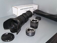 Nikon DIGITAL fit 420 800mm 1600mm 2400mm zoom lens D3200 D3300 D3400 D5200 D60