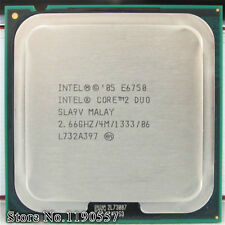 Intel Core 2 Duo E6750 , 2.66 GHZ, 4M L2 Cache, 1333MHz FSB, LGA775