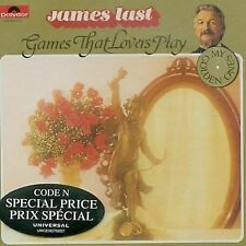 JAMES LAST - GAMES THAT LOVERS PLAY rare Easy Listening Orchestra cd 12 songs