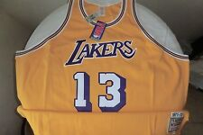 #13 Los Angeles Lakers Wilt Chamberlain jersey 100% authentic