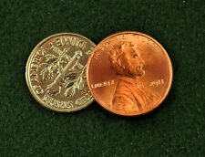 Scotch & Soda Magic Trick using a Dime & Penny - Made From Real Coins