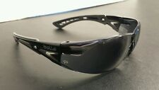 Bolle Rush Plus Safety Glasses Black/Gray Temples Smoke AF Lens 40208 Sunglasses