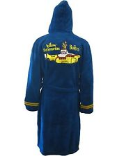 THE BEATLES ROCK BAND YELLOW SUBMARINE FLEECE BATHROBE DRESSING GOWN