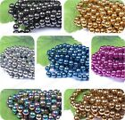 Lot WholesBall BLACK HEMATITE Spacer BEADS 4MM 6MM 8MM 10MM 12MM