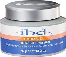 IBD UV Ultra White Builder Gel - 56 g / 2 fl oz - Hard Gel 60404