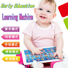 Newest English Computer Learning Education Tablet Touch Toy Games Gift for Kids
