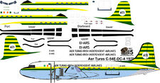 Aer Turas final Douglas DC-4 C-54 airliner decals for Minicraft 1/144 kits