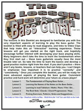 Easy Bass Guitar Lessons, The 5 Lesson Bass Guitar Method - Part 1, Download