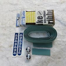 HANDLEBAR TAPE GREEN BIANCHI ROAD TOURING TRACK BIKE RIBBON NOS VINTAGE CLASSIC