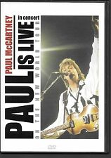 DVD ZONE 2--CONCERT--PAUL McCARTNEY--PAUL IS LIVE ON THE NEW WORLD TOUR