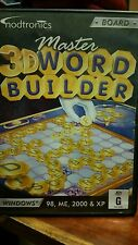 Master 3D Word Builder PC GAME - FREE POST