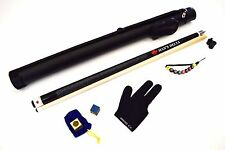 PE-3 DELTA Billiard Pool Cue Kit, FREE 1x1 CASE, CHALK & CASE, GLOVE, JOINT CAP