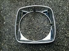 1973-1975 Buick Regal Century Left chrome Head light trim Bezel oem