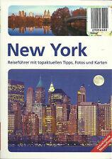 NEW YORK REISEFÜHRER mit topaktuellen Tipps Fotos Karten 2015/16 NEU + UNGELESEN