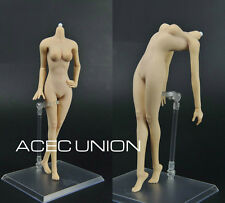 JoDoll 1/6 Super-Flexible Seamless Medium Bust Body Similar Phicen PALE USA