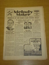 MELODY MAKER 1933 NOV 4 JOE FERRIE JIM EASTON BIG BAND SWING