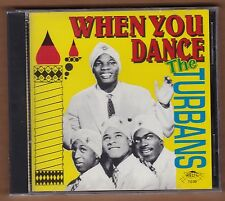 "the TURBANS cd ""When You Dance"" 1992 Relic NEW Sealed Oldies 16 Tracks"