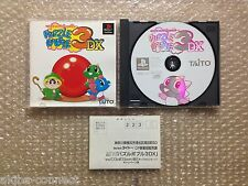 """Puzzle Bobble 3 DX """"Very Good Condition"""" Sony Playstation PS1 Japan"""