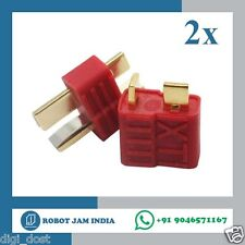 2pairs x Deans Style XT Plug Nylon T Connector Male/Female pair (O03)