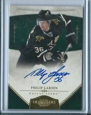 2010-11 Dominion Philip Larsen GOLD AUTO AUTOGRAPH RC #177 7/25 STARS