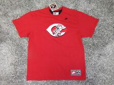 Vintage Cincinnati Reds Cooperstown T-Shirt  All Sewn  by Nike  ( L ) Free Ship.