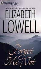 Forget Me Not, Lowell, Elizabeth, Good Book