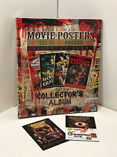 BINDER SALE: ALBUM FOR MOVIE POSTERS SCI FI &HORROR II Cards Breygent + 2 PROMOS