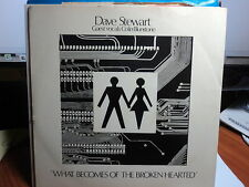 "Dave Stewart ""What Becomes Of The Broken Hearted"" PS 7"""