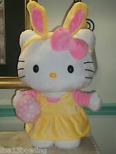 "Sanrio Hello Kitty 20"" Tall Easter Greeter Plush ~ Indoor Decor  NEW!"
