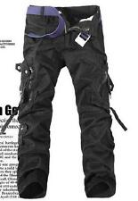 Mens Overall Fashion Casual Military Army Cargo Camo Combat Work Trousers Pants