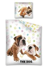 Artlist Collection The DOG 04 Single Bed Duvet Cover Set 100% COTTON
